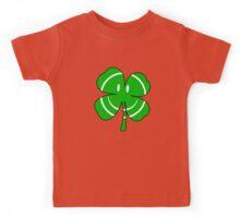 Happy Irish Shamrock Kids Tee