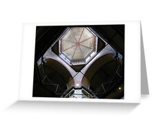 Dome: Old Melbourne Gaol Greeting Card