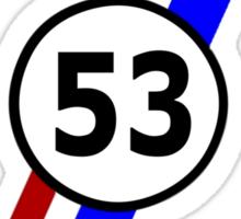 herbie 53 VW Sticker