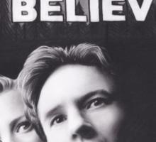 I Want to Believe X Files Sticker