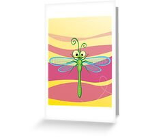 Critterz - Dragonfly 3 Greeting Card