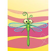 Critterz - Dragonfly 3 Photographic Print