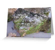 Coloured Rock Greeting Card