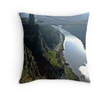 Bristol's Avon Gorge, Throw Pillow