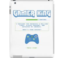 Gamer King iPad Case/Skin