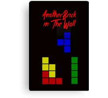 Another Brick in the Tetris Wall Canvas Print