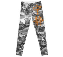 Firefly Comic Strip Leggings