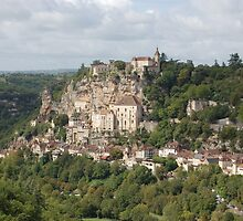 Rocamadour by Peter Reid