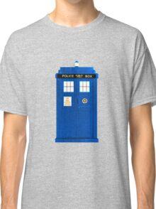 TARDIS Plain & Simple Classic T-Shirt