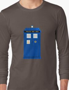 TARDIS Plain & Simple Long Sleeve T-Shirt
