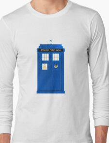 TARDIS Plain & Simple Long Sleeve T-Shirt
