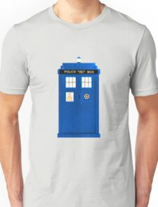 TARDIS Plain & Simple Unisex T-Shirt