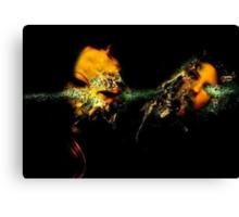 ACID BURN I Canvas Print