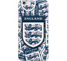 England football 3 Lions insignia badge iPhone Case/Skin
