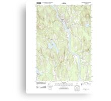 Maine USGS Historical Map Livermore Falls 20110902 TM Canvas Print