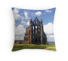 Whitby Abbey, Yorkshire Throw Pillow