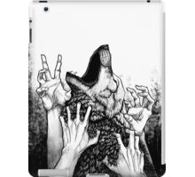 Wolf Hunt iPad Case/Skin