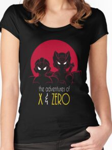 The Adventures of X & Zero Women's Fitted Scoop T-Shirt
