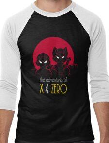 The Adventures of X & Zero Men's Baseball ¾ T-Shirt