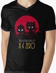 The Adventures of X & Zero Mens V-Neck T-Shirt