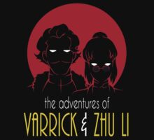 The Adventures of Varrick & Zhu Li Kids Tee