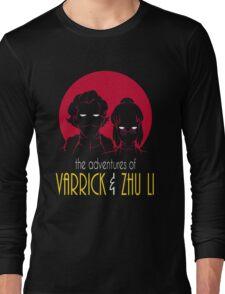 The Adventures of Varrick & Zhu Li Long Sleeve T-Shirt