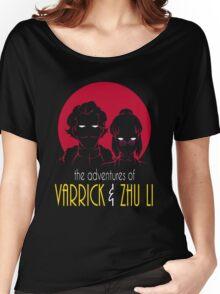 The Adventures of Varrick & Zhu Li Women's Relaxed Fit T-Shirt