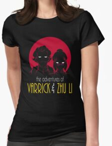 The Adventures of Varrick & Zhu Li Womens Fitted T-Shirt
