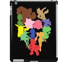 The Original Smash Crew silhouettes iPad Case/Skin