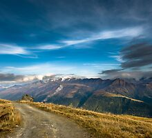Wide angle view from Fiescheralp by peterwey