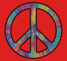 Peace Sign Trippy One Piece - Long Sleeve