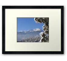 Silence in the Rockies Framed Print