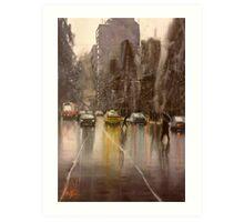 Downpour St.  Art Print