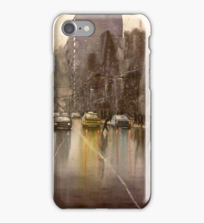Downpour St.  iPhone Case/Skin