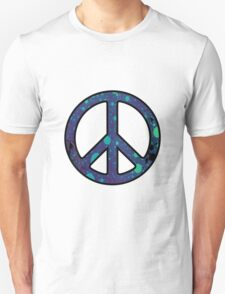 Peace Sign Trippy Unisex T-Shirt