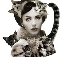 Cat Lady by drknlss