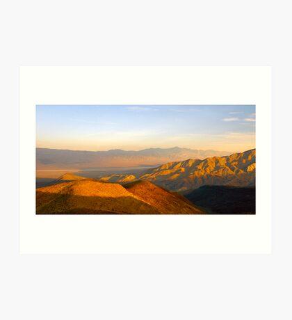 Death Valley Sunset Art Print