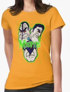 the misfits caricature  Womens Fitted T-Shirt