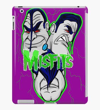 the misfits caricature  iPad Case/Skin