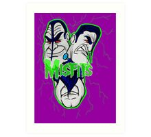 the misfits caricature  Art Print