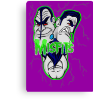 the misfits caricature  Canvas Print