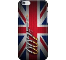 James Bond 007 iphone case iPhone Case/Skin