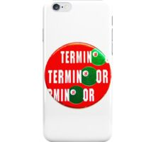 POGS Terminator iPhone Case/Skin