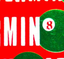 POGS Terminator Sticker