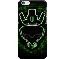 The Glitch King - Green Variant iPhone Case/Skin