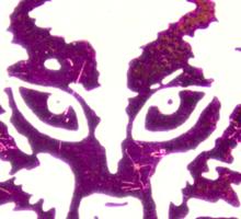 POGS Wolf Sticker
