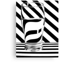 Zebra Juice No1 Canvas Print