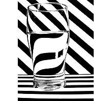 Zebra Juice No1 Photographic Print
