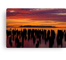 Sleeping Giant Sunrise Canvas Print