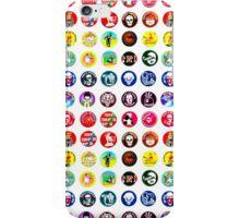 POGS Milk Cap Collage iPhone Case/Skin